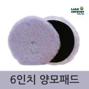 듀얼액션 폴리싱 양모패드 6인치 / 폴리셔 광택기