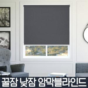 노엘리안 퍼팩트 암막블라인드 거실안방 베란다창문
