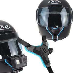 바이크 헬멧 턱 고정 블랙박스 장착용 브라켓 마운트