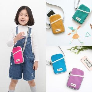 미니크로스백 핸드폰가방/초등학생/어린이/휴대폰가방