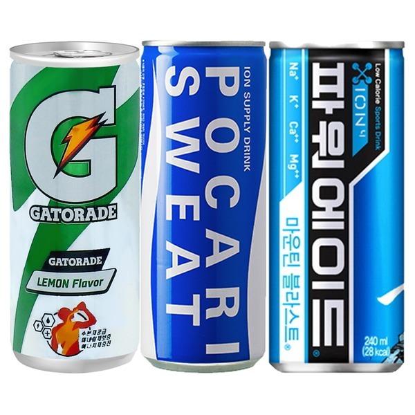 파워에이드 240mlx30 음료수 포카리 캔음료 이온음료