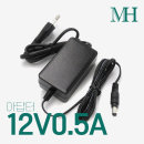 12V아답터/12V0.5A 월마운트형 DC 직류전원장치