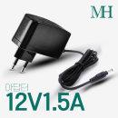 12V아답터/12V1.5A  월마운트형 ACDC직류전원장치