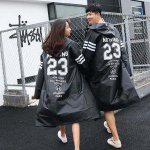 커플 뽀송 우비 패션 레인코트 EVA 남녀공용 비옷