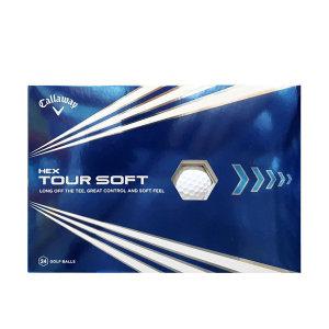캘러웨이 HEX TOUR 소프트 골프공 24입 (3피스 흰색)