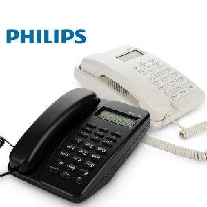 필립스 유선전화기 CRD150 블랙