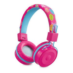 블루투스 청력보호 접이식 키즈 헤드셋 BTH-03 핑크