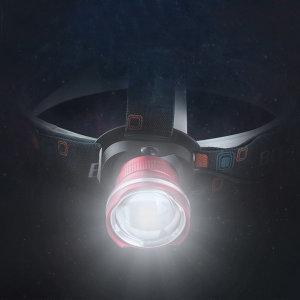 충전식 L2 LED 헤드랜턴 작업등 해루질 헤드라이트