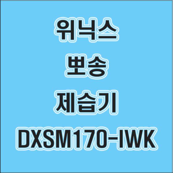 위닉스 제습기 DXSM170-IWK 나인 당일발송