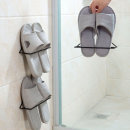 부착식 실내화걸이 1+1 2개 세트 욕실 슬리퍼 거치대