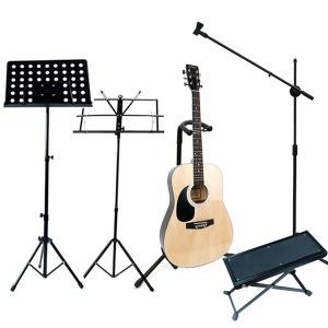 보면대 기타스탠드 마이크스탠드 기타발판 기타거치대
