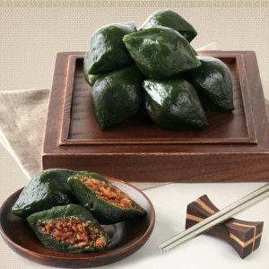 쑥송편1kg+1kg/국산쌀100% 깨송편/쑥 떡/송편