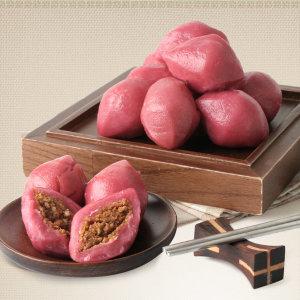복분자송편1kg+1kg/국산쌀100% 깨송편/떡/송편