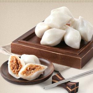 국산쌀100% 흰송편1kg/깨송편/떡/송편
