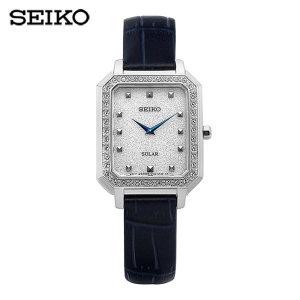 (SEIKO) SUP429P1 / 컨셉츄얼 Conceptual 솔라 여성용 가죽시계 24mm/ 세이코(시계)