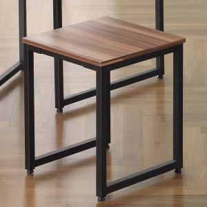 바우첸 우드 1인용 벤치의자/카페/식탁/원목/철제