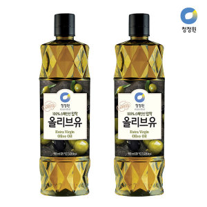 청정원 올리브유 900ml x 2개 스마일배송