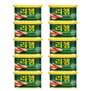 리챔 자연레시피 200g x 10캔 /햄/통조림/반찬