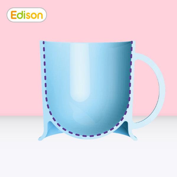 어린이전용 안심 한손컵 아이가편한 물컵