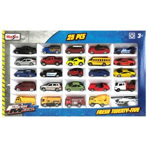 마이스토 미니카 25종 세트/미니자동차/장난감자동차