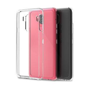 LG G7 에어클로 투명 핸드폰 케이스