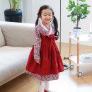 꼰띠키즈 꽃가람철릭한복 아동한복/여아한복