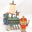 미니 거북선 만들기 / 나무공작 이순신 입체퍼즐 재료