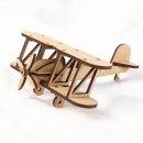 라이트형제 비행기 만들기 / 복엽기 나무비행기 모형