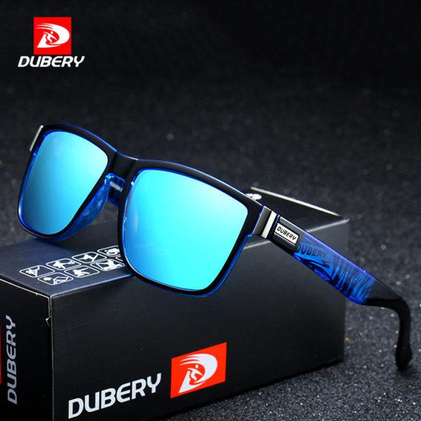 Dubery 선글라스 518 남자 여자 편광 미러 썬그라스