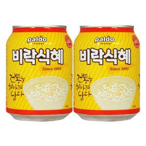 비락식혜 238ml x 72캔 / 식혜 음료수