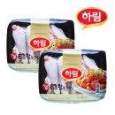 하림 냉장 참진 닭볶음용 1kg 2봉 / 닭갈비 찜닭