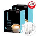 커피믹스/루카스나인 바닐라100T+유리머그컵2개