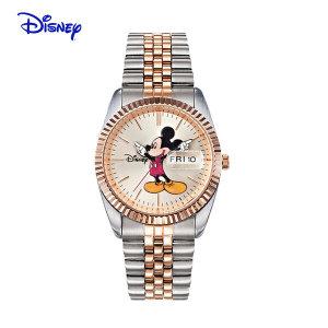 디즈니 미키마우스 남여공용 메탈 손목시계 OW016DR