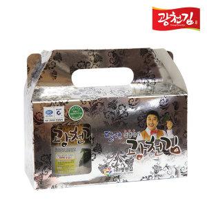달인 김병만의 광천김 캔김2P 선물세트