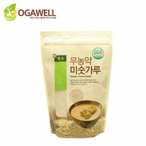 국내산 100% 청오 무농약 미숫가루 1kg 친환경 건강식