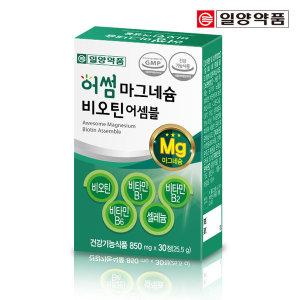 어썸 독일 마그네슘 비오틴 비타민B 126 영양제 1개월