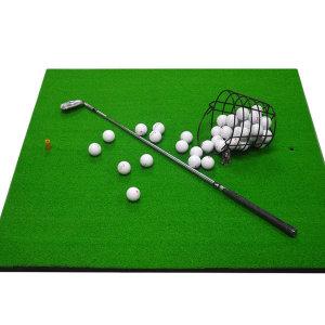 1미터 대형 골프 연습장 스윙 매트 골프티2개포함
