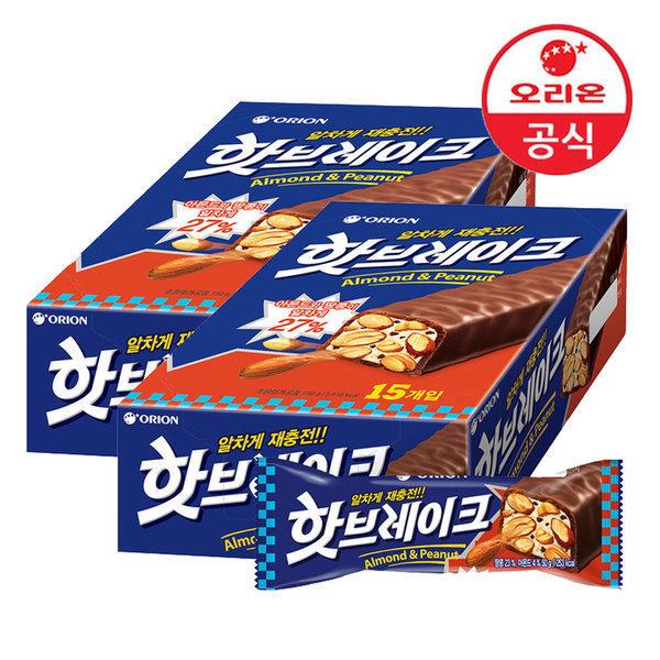 핫브레이크 50g 총30개(15개입x2박스)