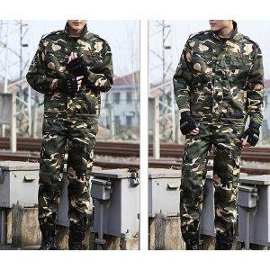 LF1062 남성 작업복 유니폼 밀리터리 훈련복 세트복