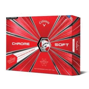 캘러웨이 2019 크롬소프트 트루비스 골프공/로고인쇄