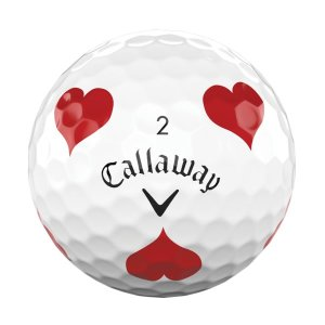 캘러웨이 크롬소프트 19 슈트 트루비스 하트 골프공