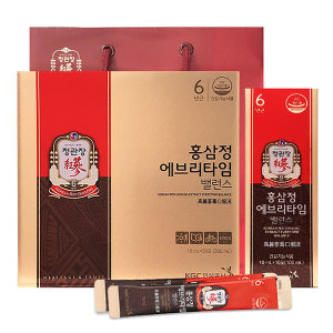 NEW 정관장 홍삼정 에브리타임밸런스 정품 30포 1박스