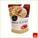 죽 캠핑 혼밥 비비고 소고기죽 리필 450g