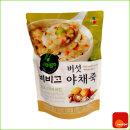 죽 캠핑 혼밥 비비고 야채죽 리필 450g