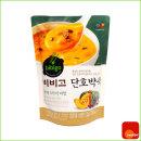 죽 캠핑 혼밥 비비고 단호박죽 리필 450g