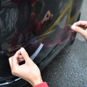 차량용 생활보호필름 ppf 범퍼 보호 스티커 앞 뒤 4p