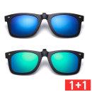 1+1 클립형 편광선글라스 클립형썬글라스 안경 P3005M