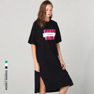 르오트  모리모리스  러브홀릭 게스 컬러 롱 티셔츠
