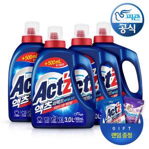 액체세제 액츠퍼펙트 3.5L 베이킹소다 4개+시그니처300