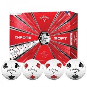 캘러웨이 크롬소프트 트루비스 골프볼 4피스